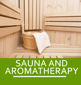 SAUNA AND AROMATHERAPY